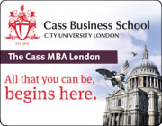 Cass Business School Featured MBA Courses