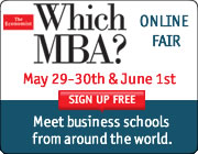 The Economist Featured MBA Courses