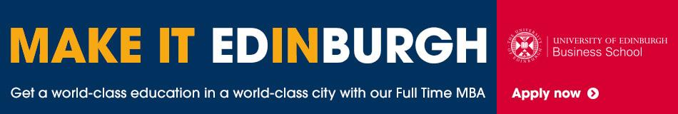 University of Edinburgh Featured MBA Courses